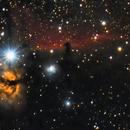 Horsehead & Flame Nebula,                                Van Macatee