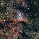 "NGC 6188 ""The fighting dragons"" Namibia 2016,                                Stefan Baumgartner"