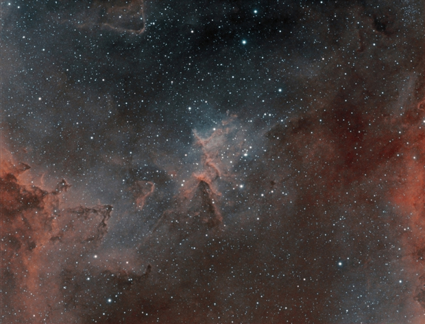 IC1805 H-alpha + OIII,                                antares47110815