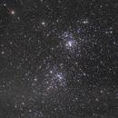 Perseus double cluster,                                piggypop