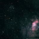 Messier 52 feat. Bubble Nebula NGC7635,                                Todd Fleischmann