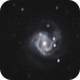M61 with new supernova,                                Chris W