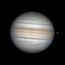 Jupiter and Io 9-4-21,                                chuckp