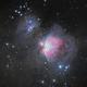 M42 LRGB HDR,                                JamesR