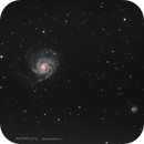 M 101 Galaxie du Moulinet,                                Stephane Jung