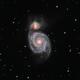 M51 Whirlpool galaxy,                                Norman Hey
