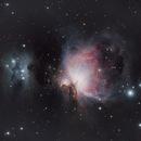 M42-43 & NGC1977,                                Gary Plummer