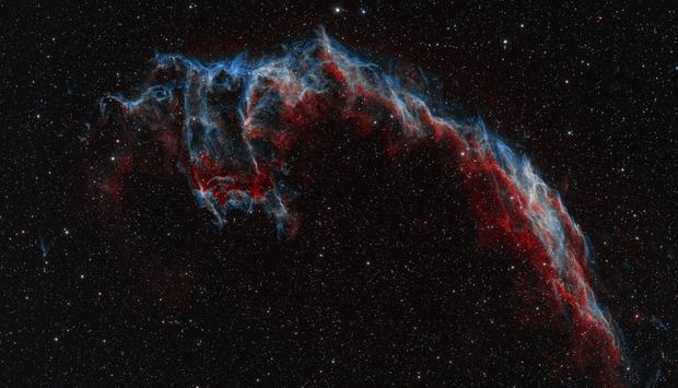 Eastern Veil / Bat Nebula,                                Chad Adrian
