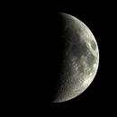 Lune - Moon - 1st quarter,                                William BELLEAU