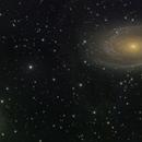 Bode's Galaxy and Cigar Galaxy,                                Lee Morgan