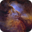 Enter the Dragons - NGC 6188 in HaO3S2RGB,                                Andy 01