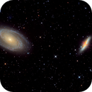 M81 Bodes galaxy and M82,                                Christer Strandh