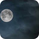 SuperMoon between the clouds,                                Alessandro Merga...