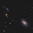 Arp 159: NGC 4725 (the One-Armed Galaxy), NGC 4747, NGC 4712,                                Chris Sullivan