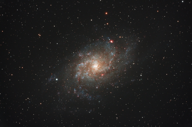 M33 QHY 247c test,                                JORGE RICARDO