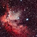 NGC 7380 Wizard nebula,                                Patrick Poirier
