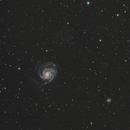 M101 - Pinwheel Galaxy,                                AstroFrames