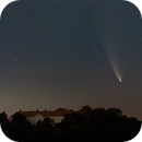 C/2020 F3 (Neowise) about Cappenberg Castle @ 50 mm,                                Wolfgang Zimmermann