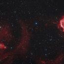 Monoceros Nebulas in HaRgb,                                AstroMarcin