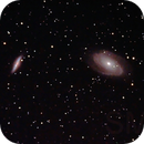 Messier 81 & 82 or M81 & M82 or Bode's Galaxy,                                Stephen Harris