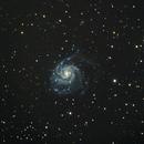 M101 The Pinwheel Galaxy,                                BradHvisuals