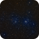 Double Cluster in Perseus,                                Ron
