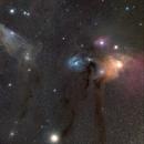 Blue Horse Nebula (IC 4592) and Rho Ophiuchi Cloud Complex,                                snakagawa