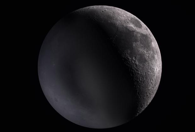 Earthshine on the Moon,                                Jon Stewart