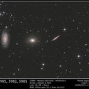 Draco Trio NGC5985, NGC5982, NGC5981,                                Florian Signoret