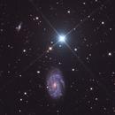 NGC4145  Look into the background in full resolution,                                Ola Skarpen SkyEyE
