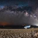 Milkyway panorama,                                ALEXANDROS CHALOOUPKA