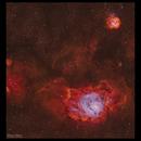 M8 - The Lagoon Nebula HSO,                                Göran Nilsson
