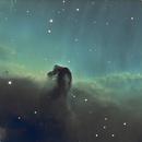 IC 434 Horse Head Nebula,                                BrianF