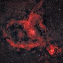 The Heart Nebula,                                Dan Gallo