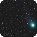 Comet Lovejoy and The Little Dumbbell Nebula,                                Lars Frogner