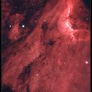 IC5070 HA OIII Bicolor 8302011,                                rigel123