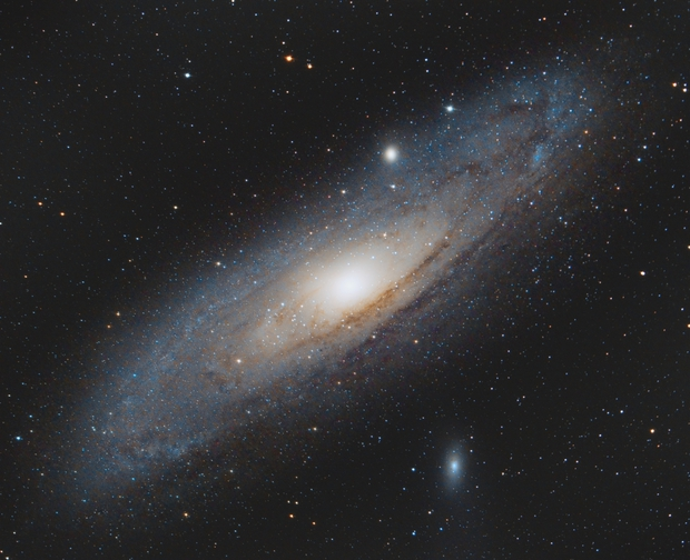 Andromeda Galaxy - M31,                                HappySkies