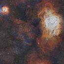 Laguna e Trifida -M8 e M20-,                                ivanbusso