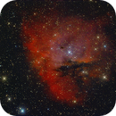 IC 1590 and Pacman Nebula,                                Dietmar Bode