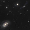 NGC 4725 and NGC 4747,                                astronono