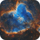 The Heart Nebula (IC 1805) in Narrowband,                                Chuck's Astrophot...