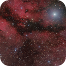 IC 1318 - The Sadir Region in RGB (the gentle view),                                David McClain