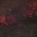 North America and Gama Cygnus Nebulae,                                Jonah Scott