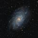M33 - Triangulum Galaxy,                                Orestis Pavlou