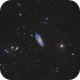 Multiple scope approach on Messier 106,                                Connor Matherne