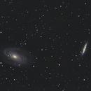M81 et M82,                                Davy HUBERT