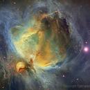 M 42 Hubble palette,                                FrancescoTallarico