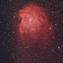 Monkeyhead Nebula - NGC 2174,                                V3CNR