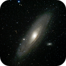 Andromeda Galaxy with an Astrograph,                                Luis Marco Gutierrez