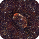Jellyfish (Crescent) Nebula NGC 6888,                                Eddie Pons aka Ed...